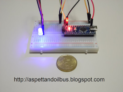 Fig. 9 - Il modulo Arduino Nano in funzione - foto di Paolo Luongo
