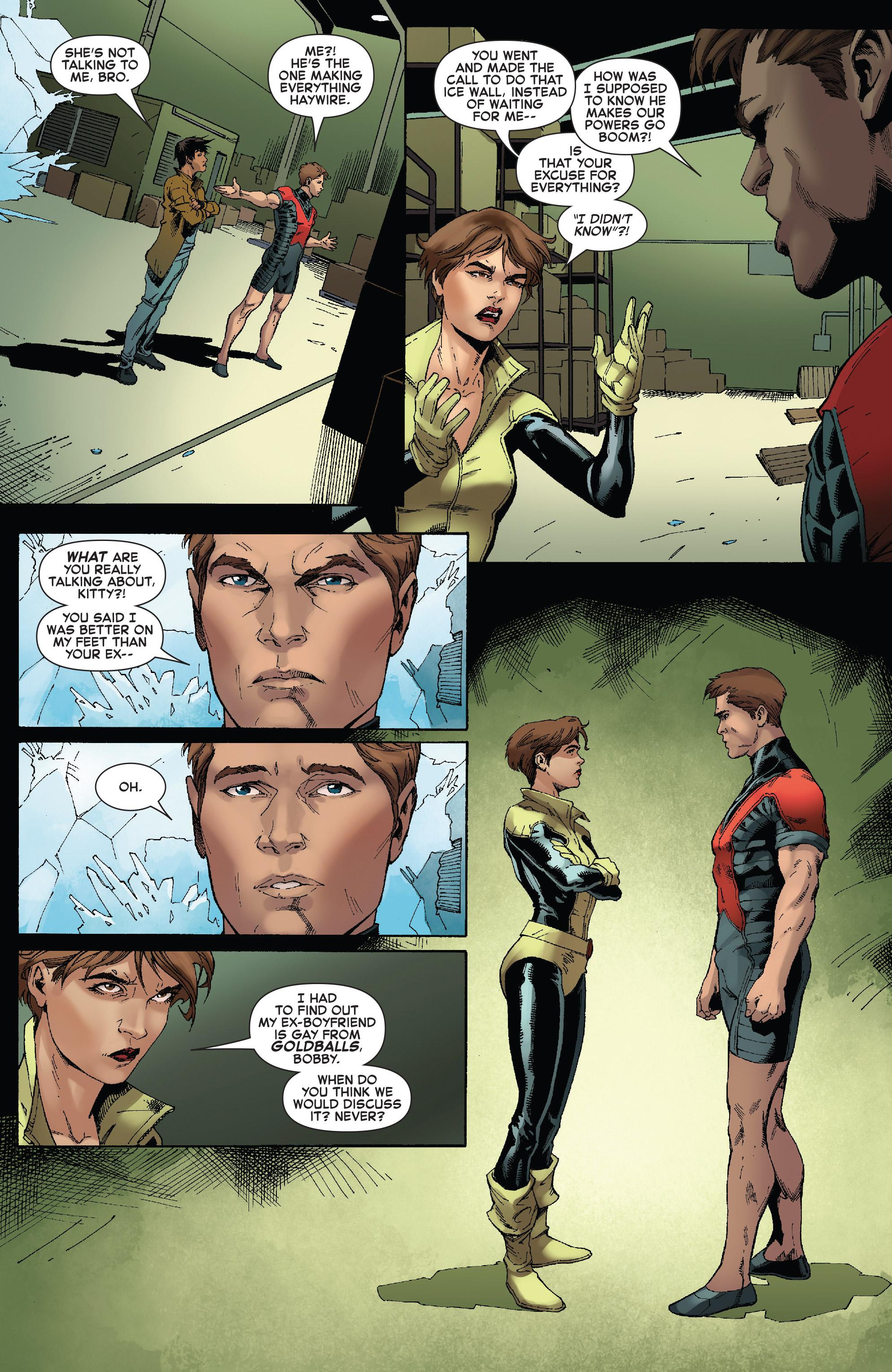 Read online Iceman (2017) comic -  Issue #2 - 15