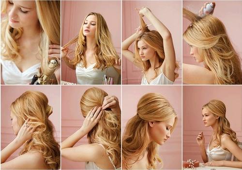 tutoriais de penteado fácil para fazer sozinha