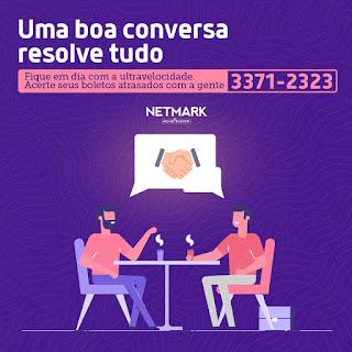 Reative sua conexão com grandes descontos da Netmark; saiba como