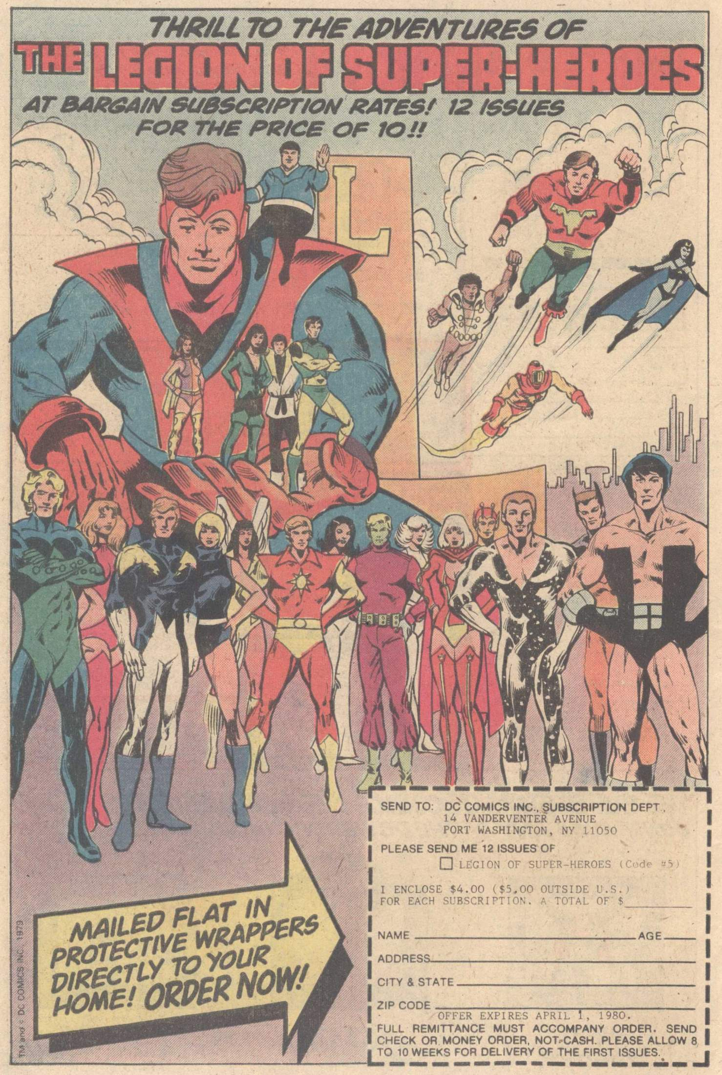 Legion of Super-Heroes (1980) 263 Page 29