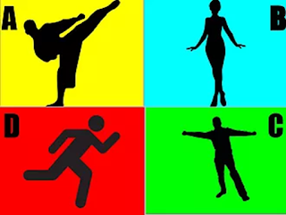 """Use the """"strike-a-pose"""" strategy to have students use movement to respond to a question."""