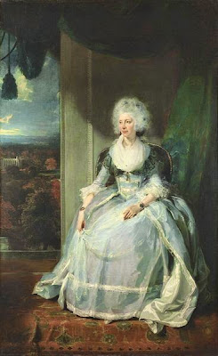 Queen Charlotte by Sir Thomas Lawrence, 1789