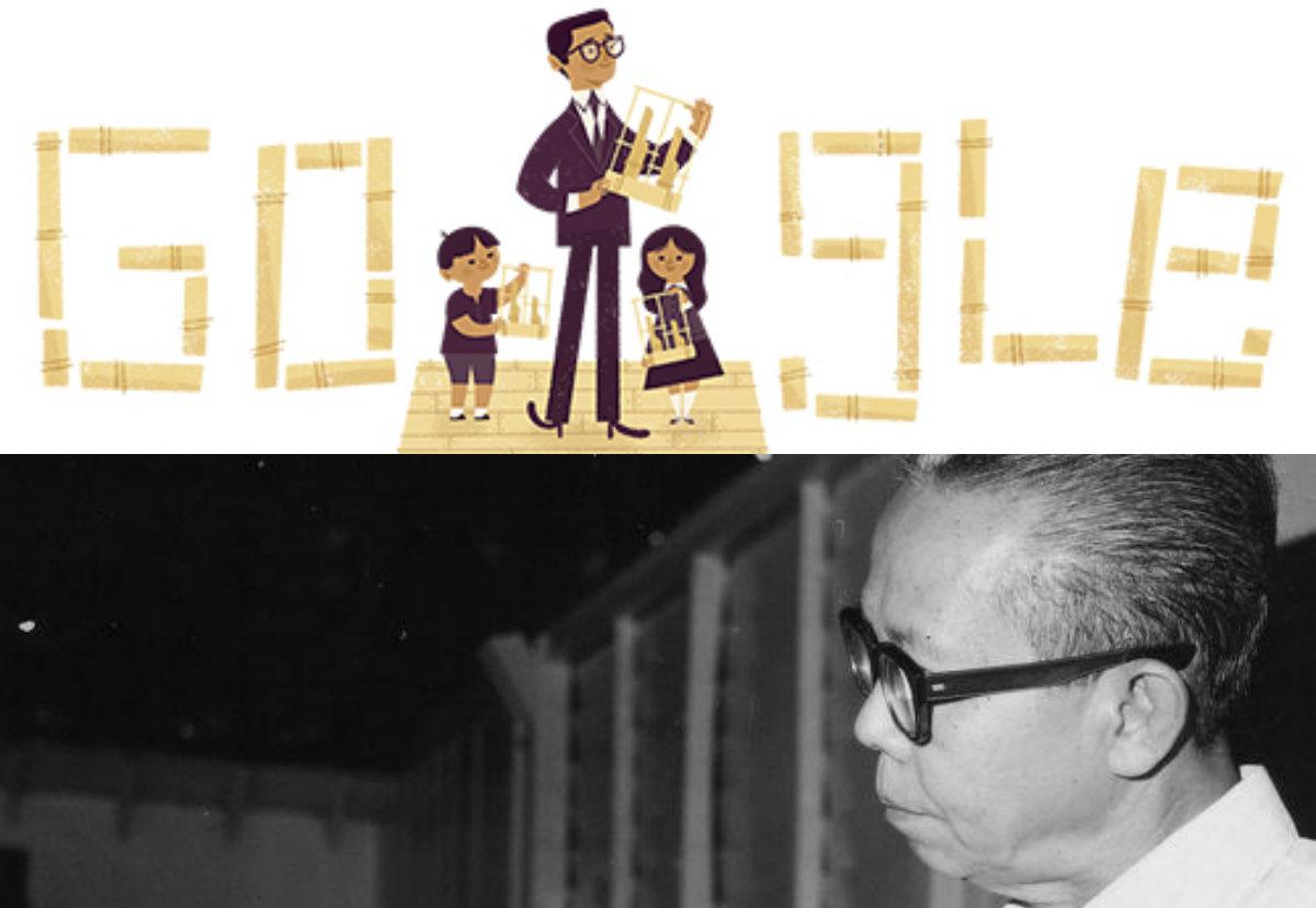 Hari Lahir Daeng Soetigna  ke-108 di Google Doodle