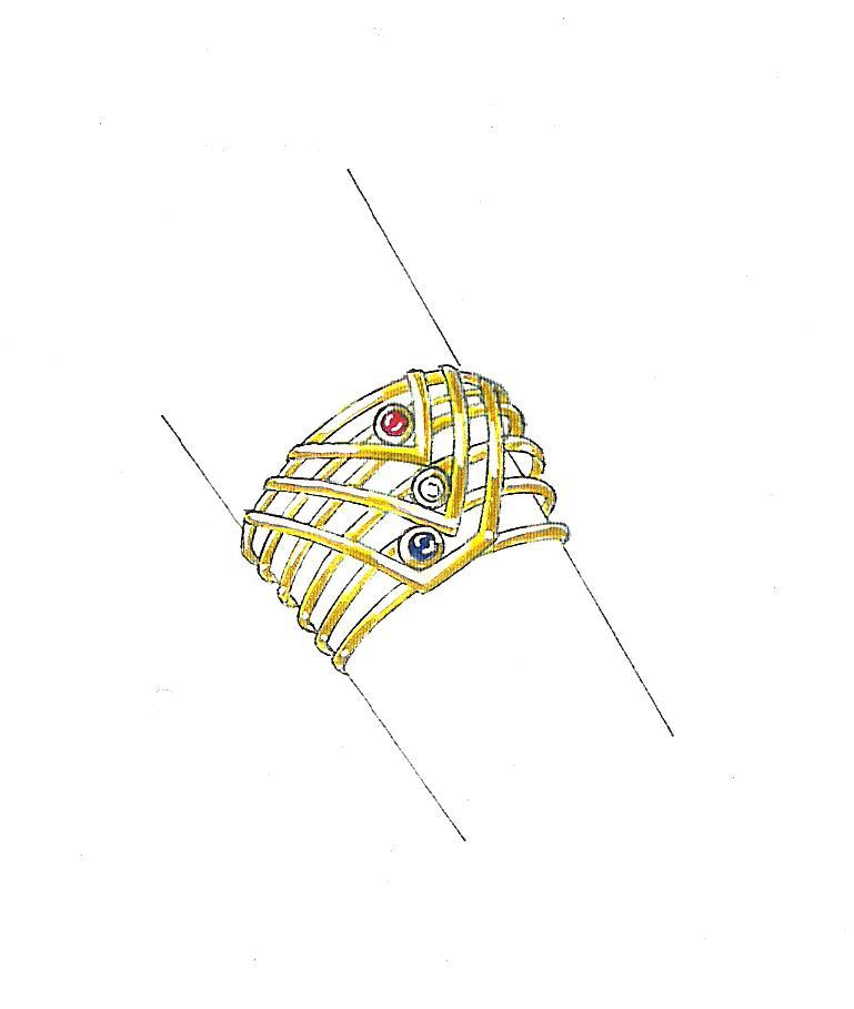 Favoritos Atelier Luciana Preuss: Aprenda a desenhar joias! OA97