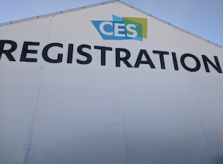 CES Main Registration Tent