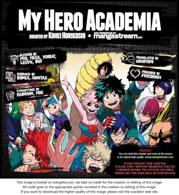 Boku no Hero Academia - Chapter 121