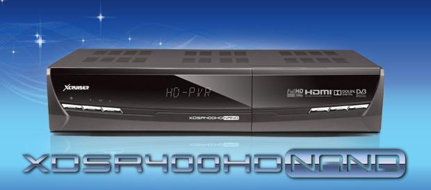 XCRUISER XDSR400HD NAND Software, Tools - Mr-Dish
