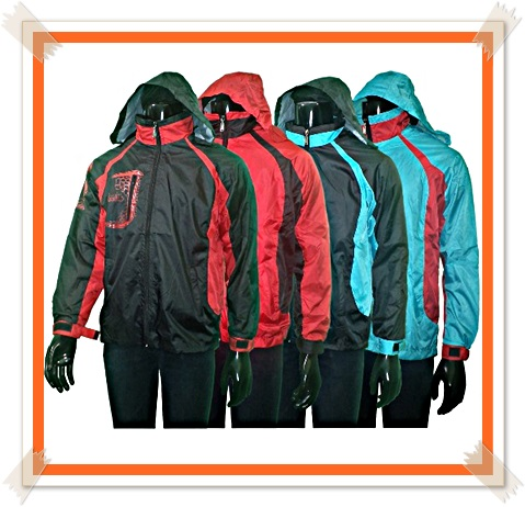 model jaket parasit anti air
