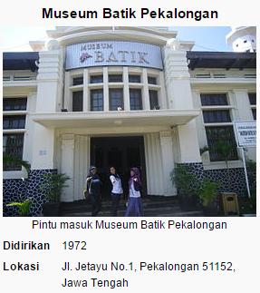 gambar Gedung museum Batik Pekalongan