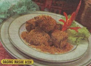 Daging Masak Aceh