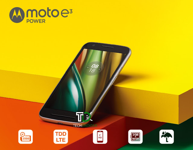 Moto e3 Power Image and Specs