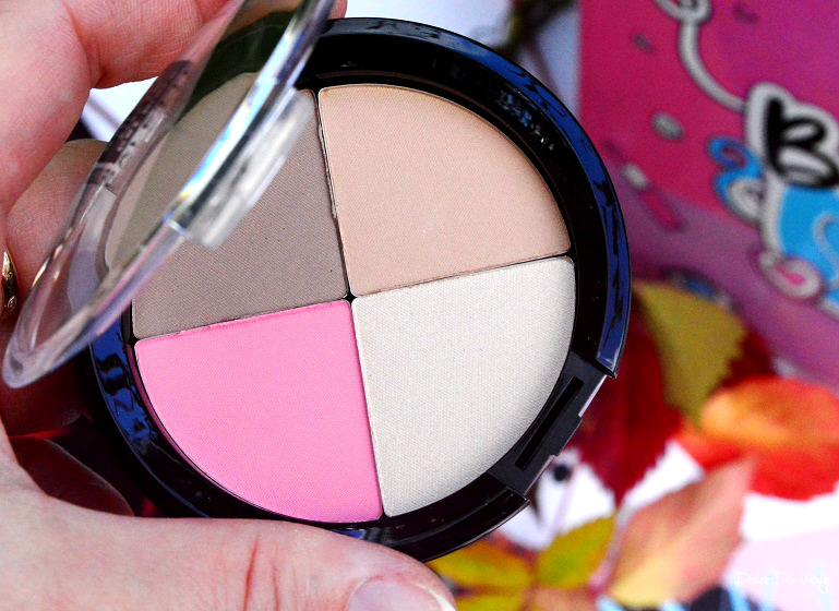 Beauty School by ShinyBox - Smart Girls Get More Paletka do konturowania twarzy