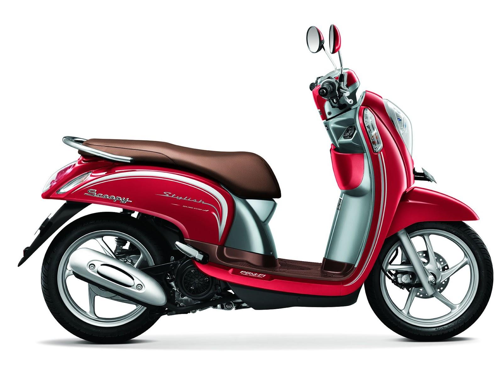 Harga dan Spesifikasi Motor Honda Scoopy eSP Terbaru