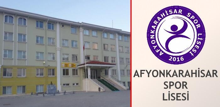 AFYONKARAHİSAR SPOR LİSESİ