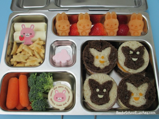 Bunch of bunnies Easter bento