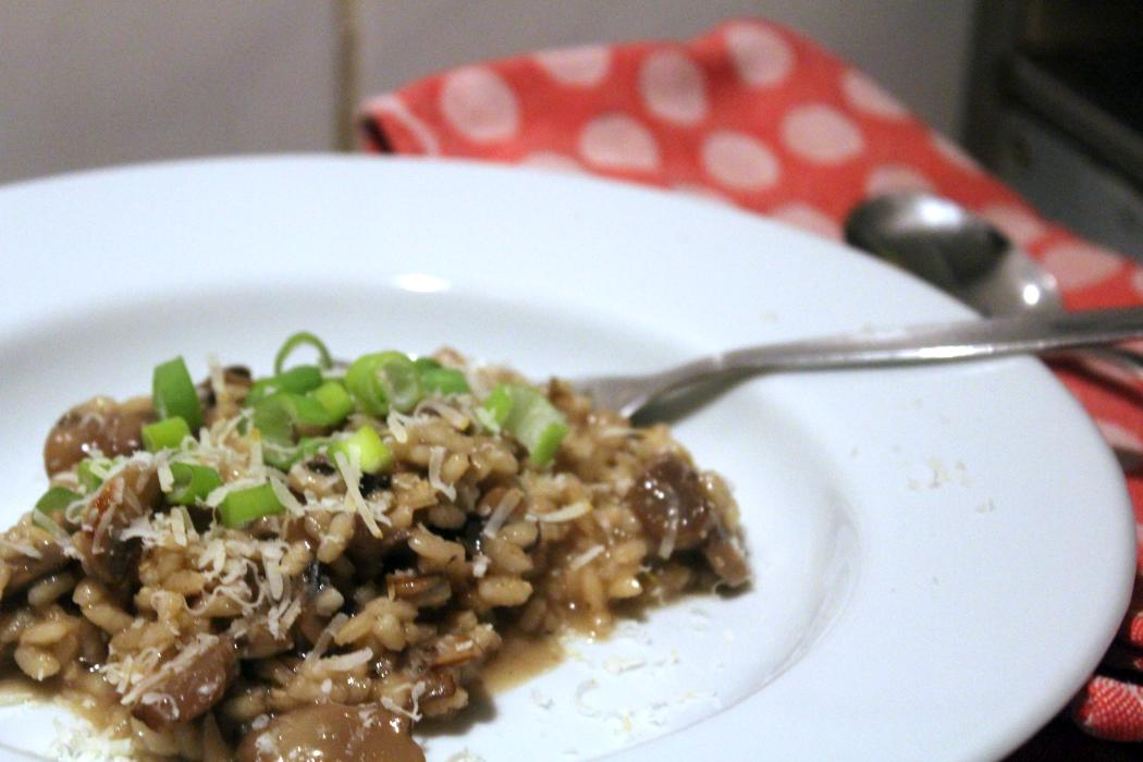 glatzkochs welt risotto mit champignons. Black Bedroom Furniture Sets. Home Design Ideas