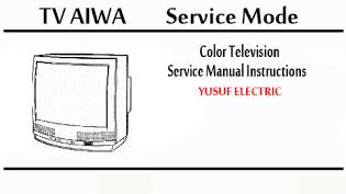 Service Mode TV AIWA Berbagai Type