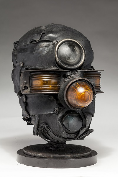 "Ronald Gonzalez - ""Third Eye"" - 2018 | imagenes obras de arte contemporaneo tristes, depresion, esculturas chidas, creative emotional sad art figurative pictures, cool stuff, deep feelings"