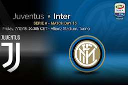 Live Streaming Juventus vs Inter Milan 8 Desember 2018