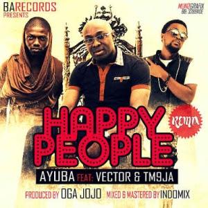 ayuba happy people remix ft vector
