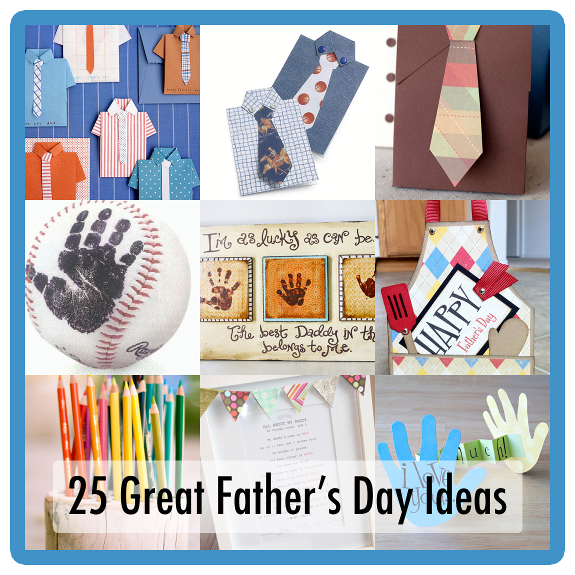 25 Father's Day DIY Projects