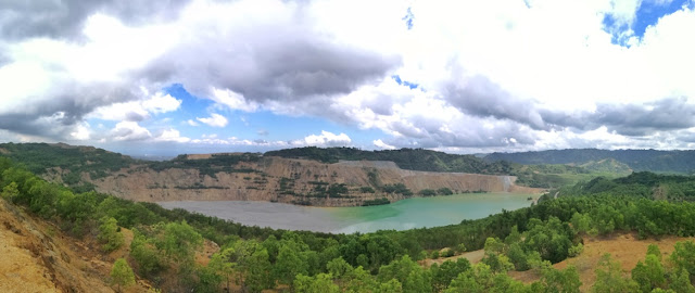 Panorama View of Biga Pit in Toledo City