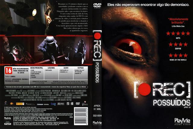 Capa DVD [REC] Possuídos