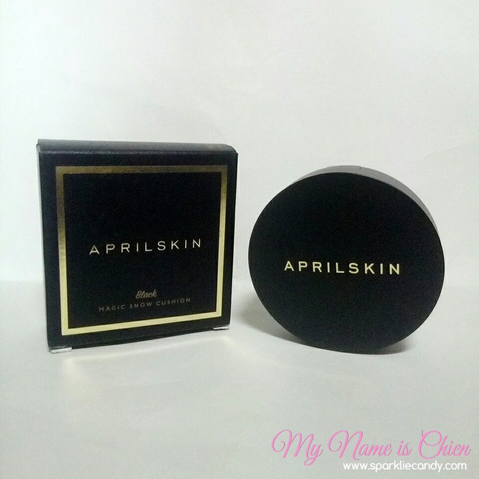 My Name Is Chien Review April Skin Magic Snow Cushion 20 Aprilskin