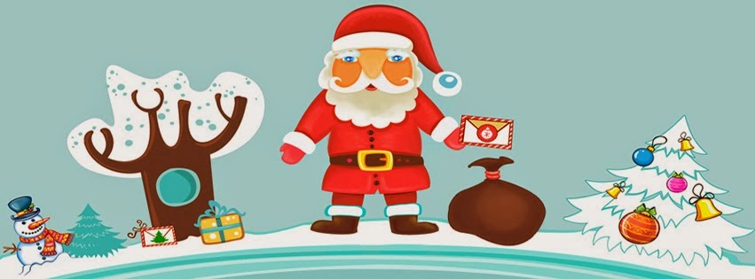 christmas tree facebook cover photo