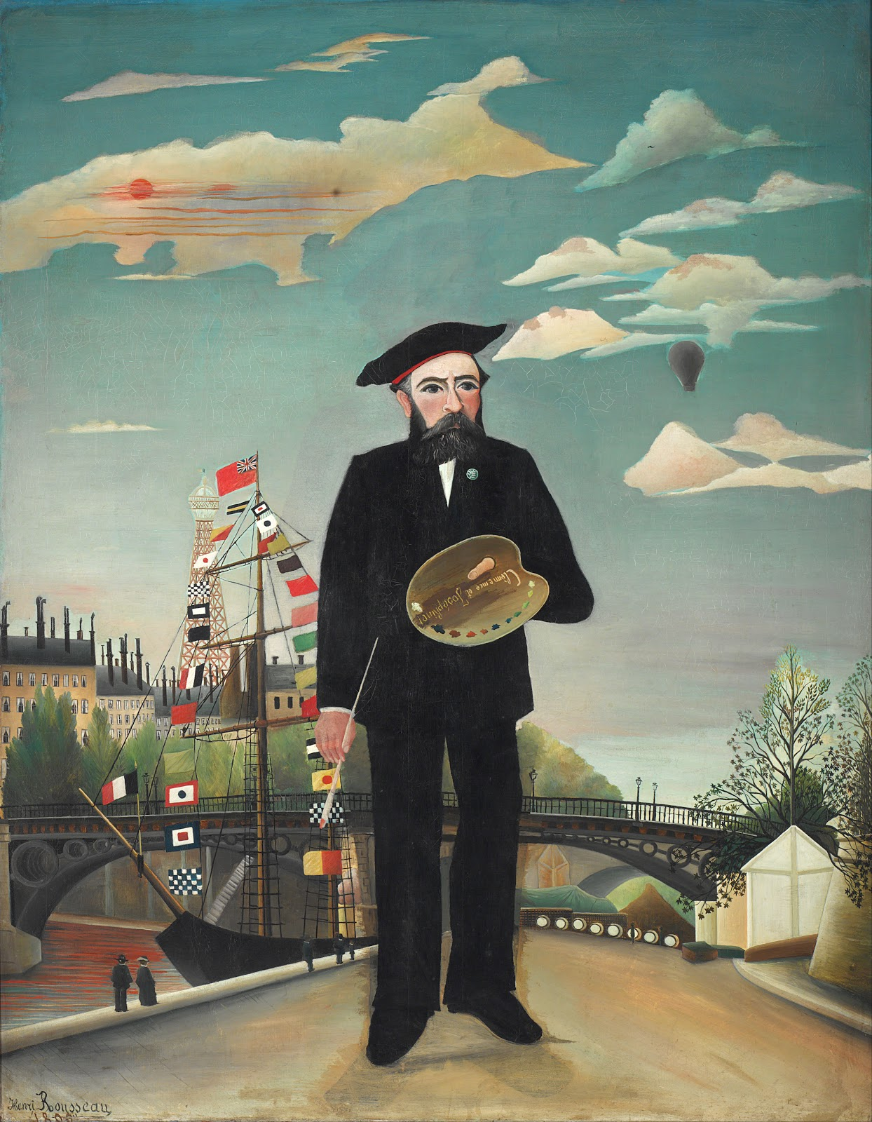 アンリ・ルソーの私自身:肖像=風景