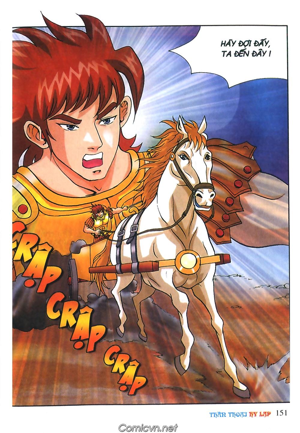 Thần Thoại Hy Lạp Màu - Chapter 56: Hai vị tướng và hai mỹ nữ - Pic 3