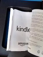 Manual colado do Kindle