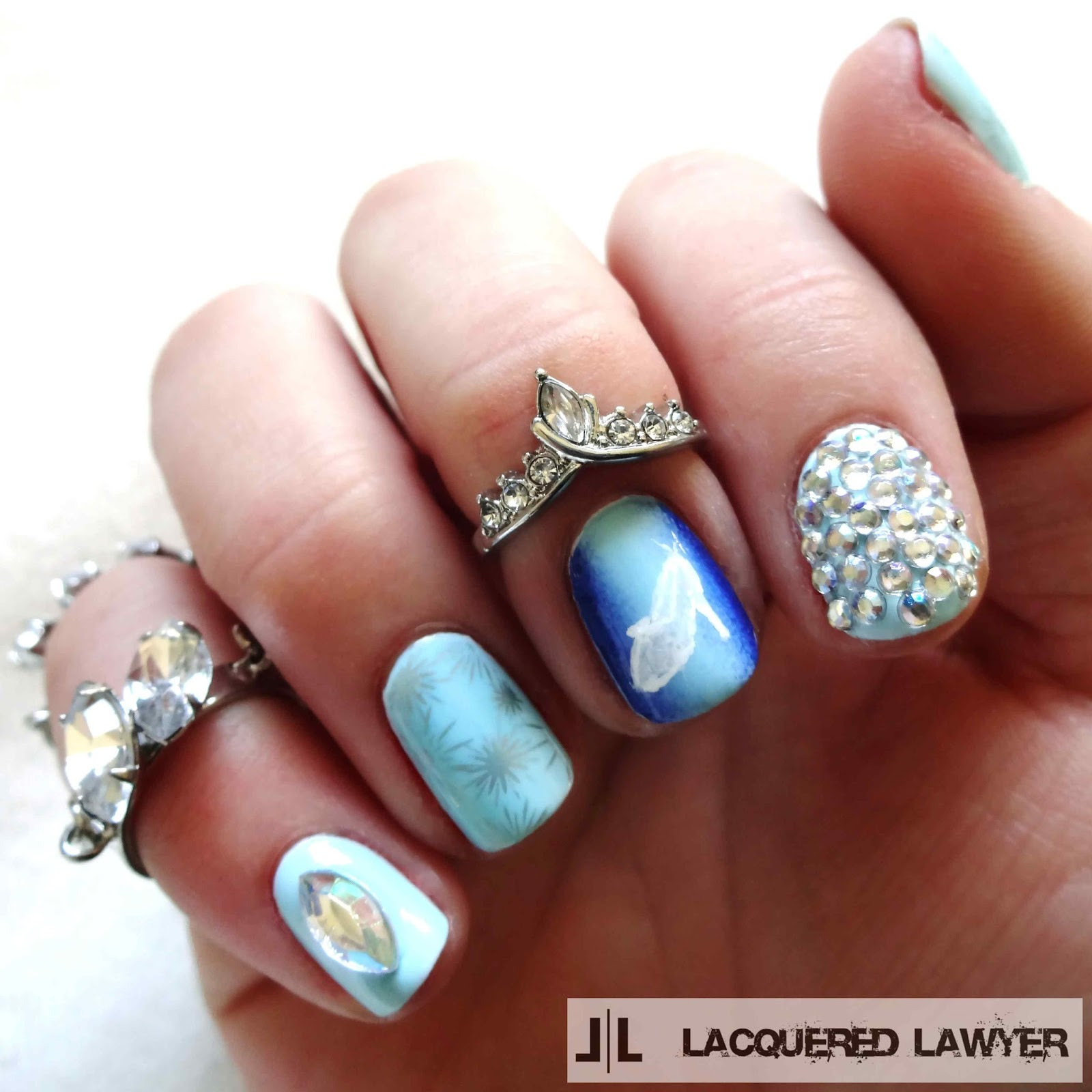 Lacquered Lawyer | Nail Art Blog: Stroke of Midnight