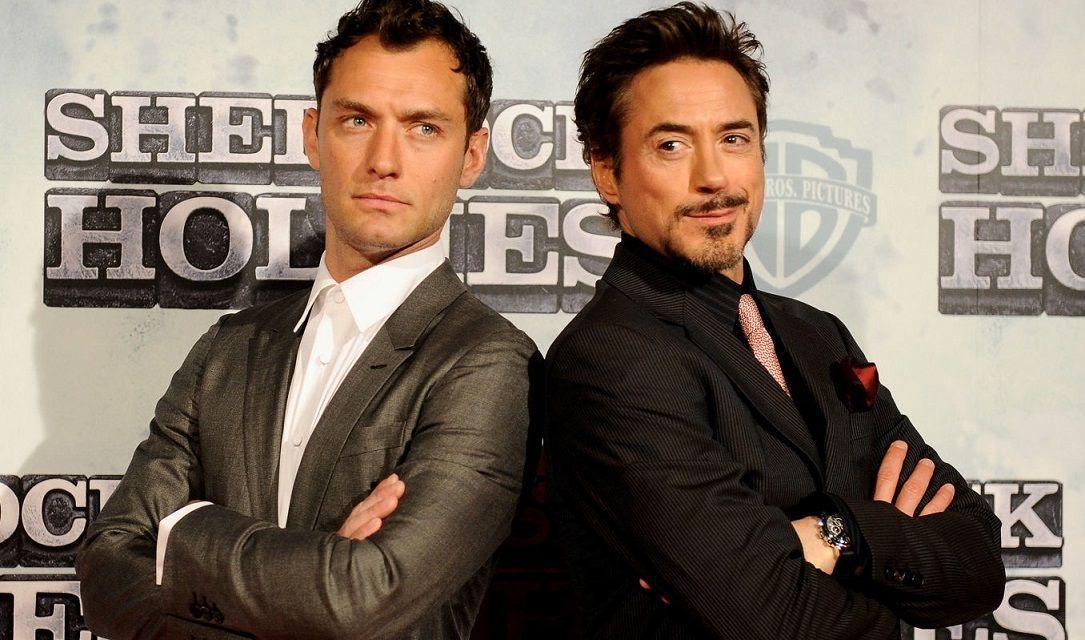شارلوك هولمز الجديد Sherlock Holmes 3 روبرت داوني جونيور
