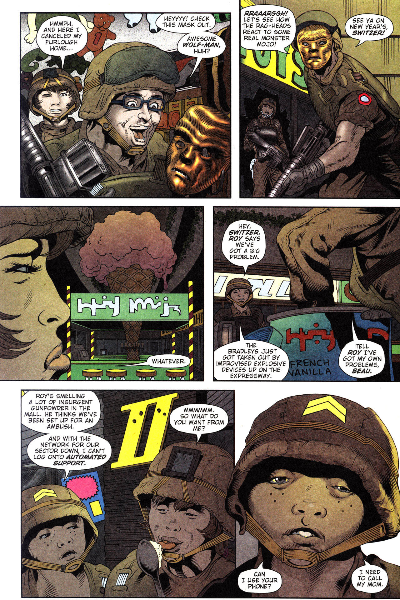 Read online Army @ Love comic -  Issue #2 - 10