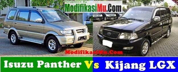 Perbandingan Kijang LGX Diesel Vs Isuzu Panther Kapsul Mending Pilih Mana Irit Mana Perawatanya