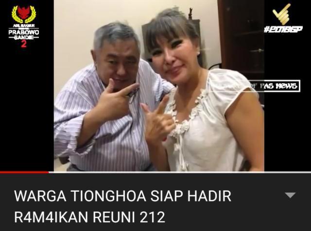 Warga Tionghoa Ini Ajak Keluarganya Ikut Reuni 212, Yakin untuk Indonesia Lebih Baik