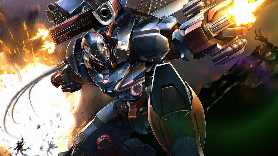 War Machine, Marvel, Superhero, 4K, #6.1186