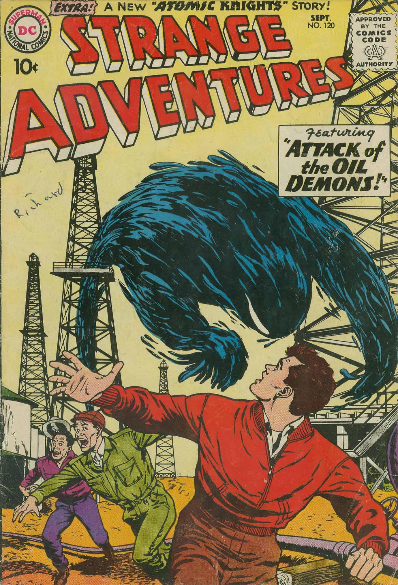 Strange Adventures (1950) issue 120 - Page 1