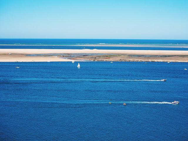 photographie bassin arcachon dune pyla banc arguin