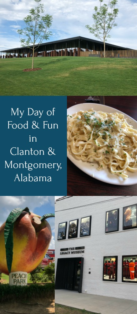 My Day of Food and Fun in Clanton and Montgomery, Alabama