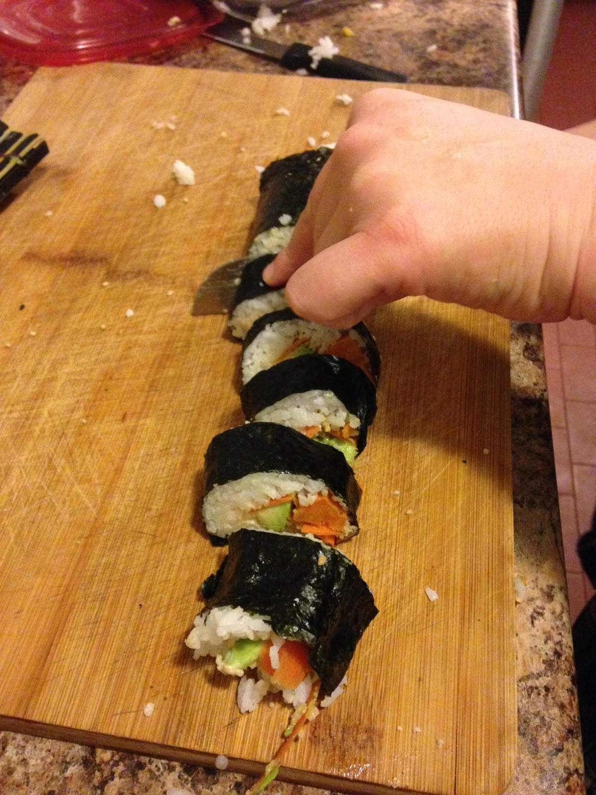 Confectionner des sushis veganes ma cuisine v g tale - Comment faire des sushi ...