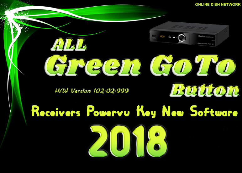 All Green GoTo Receiver Software 2018 - Online Dish Network