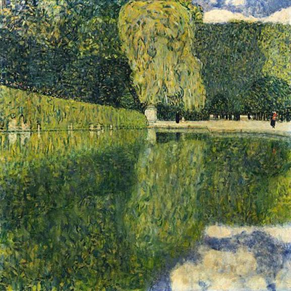 Klimt Schönbrunn Palace Garden, 1916