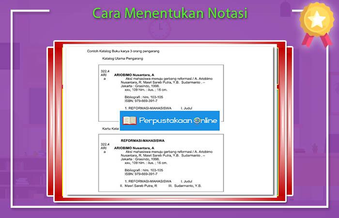 Cara Menentukan Notasi