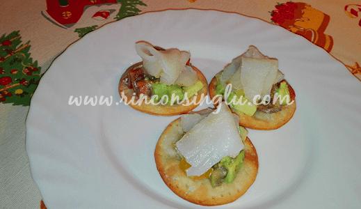 canape de bacalao sin gluten