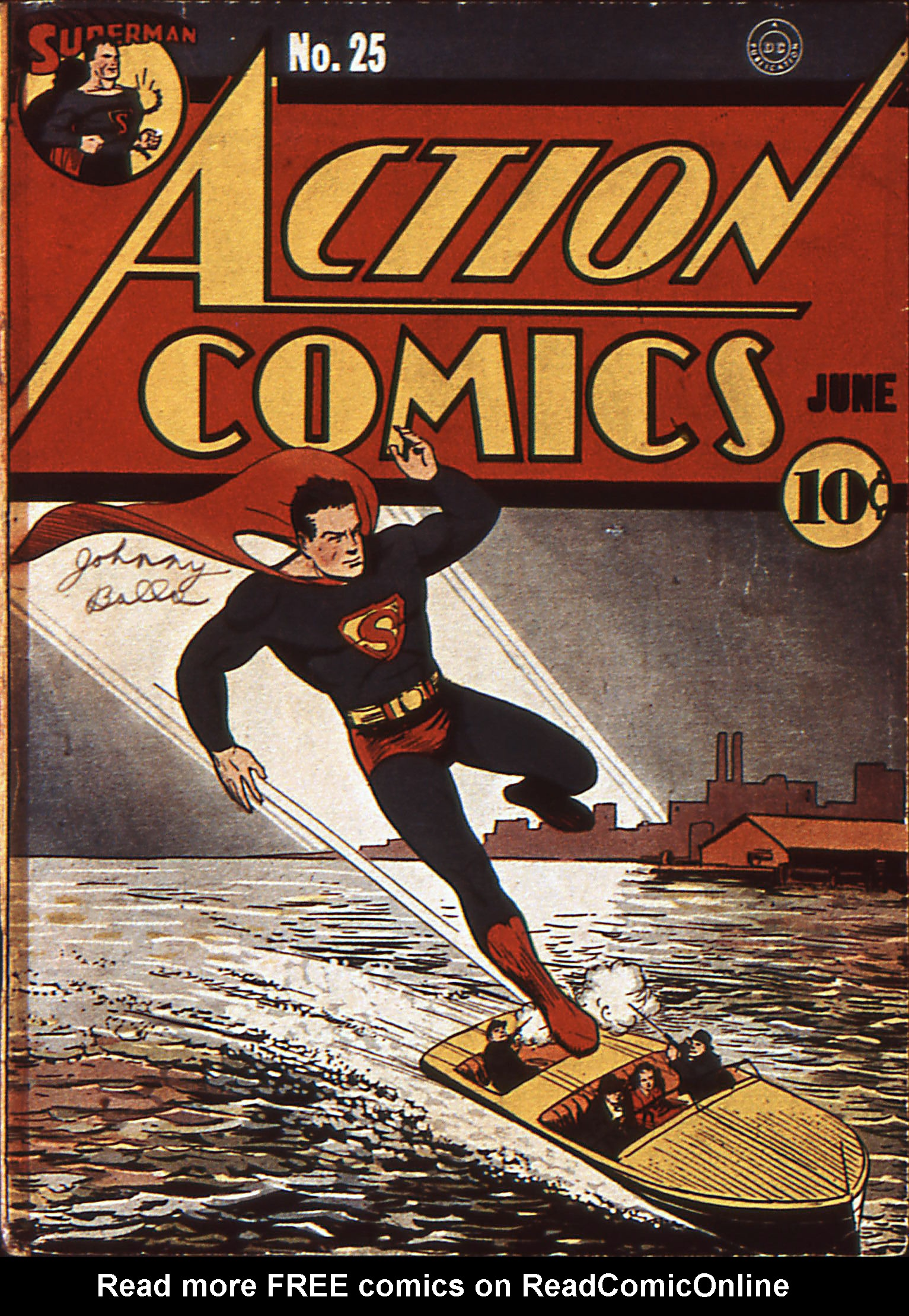 Action Comics (1938) 25 Page 1