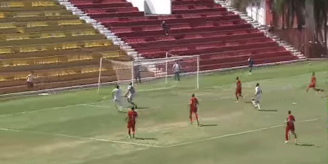 Barretos fez um grande jogo fora de casa, segurou  o Audax e num contra ataque mortal no final do jogo fez um gol com Magrão e coloca a mão na vaga - Momento do gol de Magrão para o Barretos