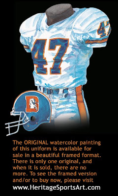 Denver Broncos 1989 uniform